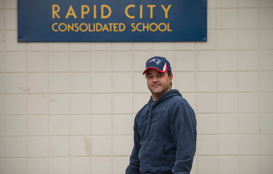 2013 winner Ryan Nevin from Rapid City, MB donated $2,500 to the Rapid City Elementary School.
