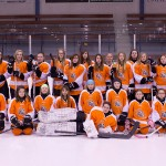 2014 winner Kevin Bossert from Hanna, AB donated $2,500 to Hanna Girls Pond Hockey.